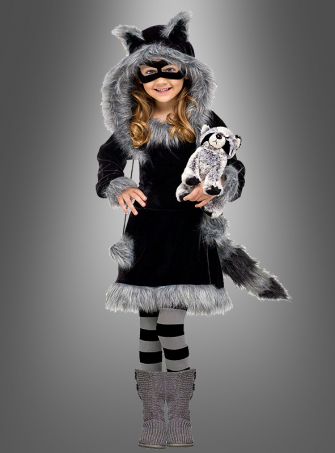 Sweet Raccoon Girl Costume