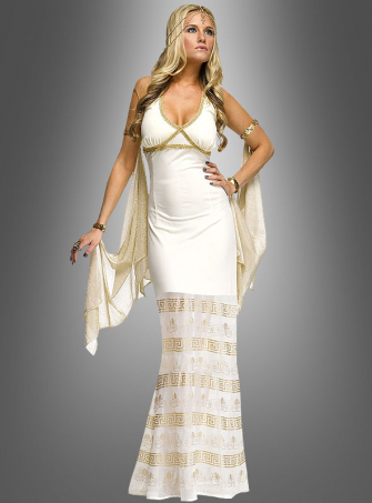 Golden Goddess Fortuna Costume