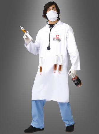 Impfdoktor Spritze Arztkostüm