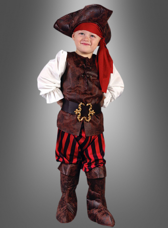 Pirat auf hoher See Kinderkostüm