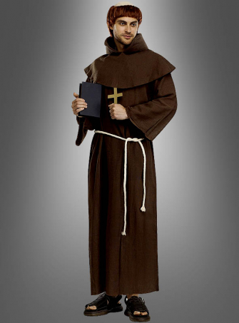Medieval Monk Costum