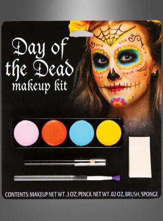 Sugar Skull Catrina Makeup