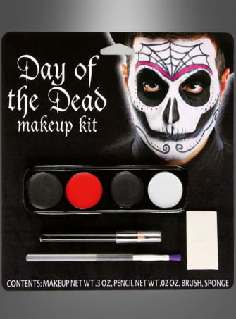 Day of the Dead Spider Makeup Kit
