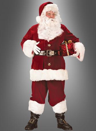 Santa Clause plussize deluxe costume