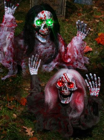 Blutige Grabgeister