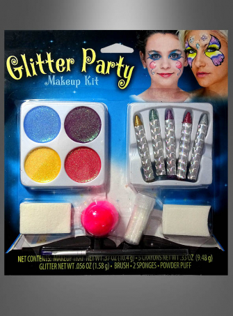 Glitzerparty Make-up Set