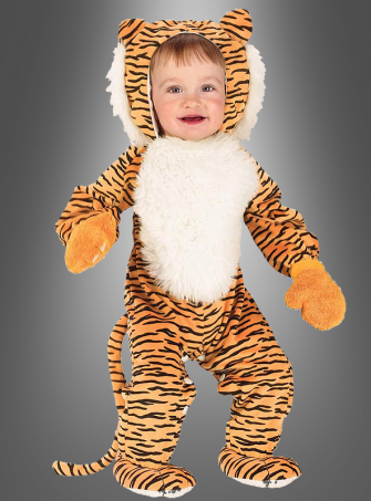Infant Cuddly Tiger Costume