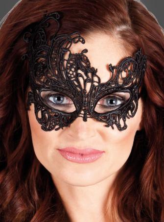 Augenmaske mit Spitze Fantasy