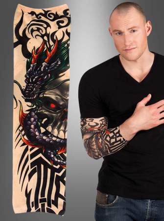 One Tattoo Sleeve Dragon