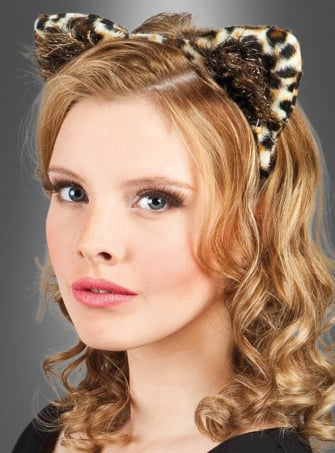Leopard Tiara and Tail