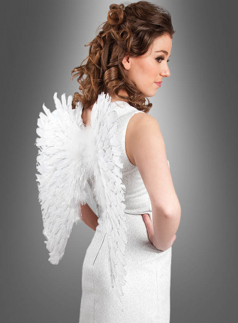 White Angel Wings 55 cm