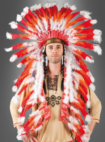 Feather Headdress Deluxe
