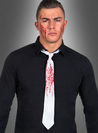 Bloody White Tie