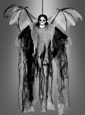 Winged Reaper Halloween Decoration