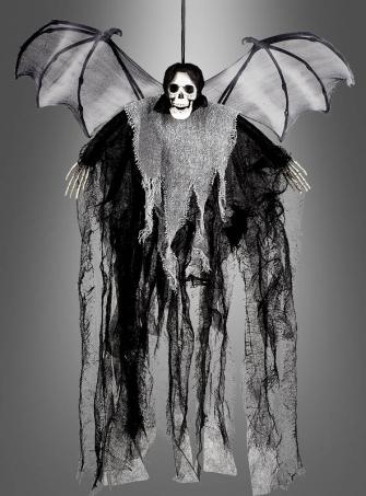Geflügelter Tod Halloween Deko