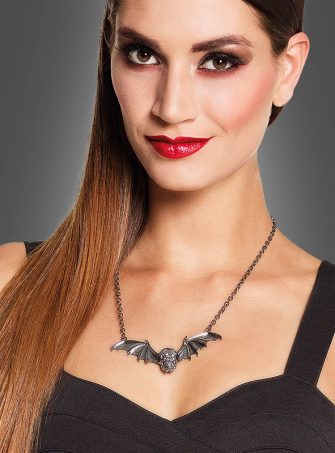 Gothic Necklace with Wings