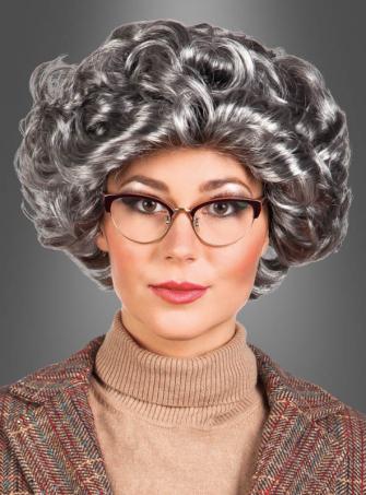 Granny grey Wig
