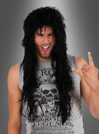 Rocker Long Hair Wig