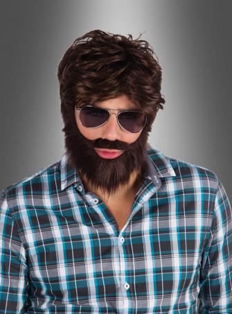 Full Beard with Wig