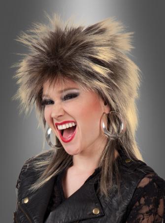 Popstar Perücke Tina 80er