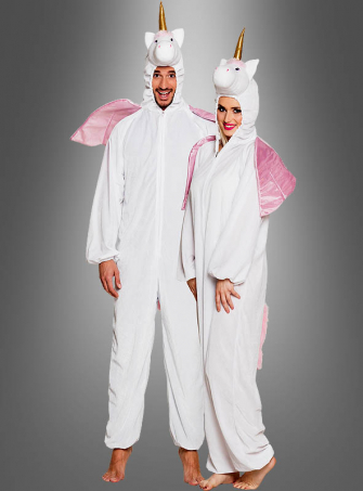 Unicorn Costume Adult white