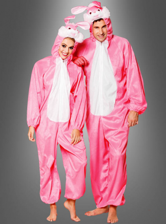 Pink Rabbit Plush Costume