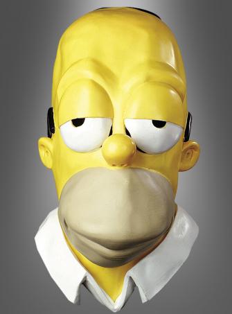 Übergroße Homer Simpson Maske