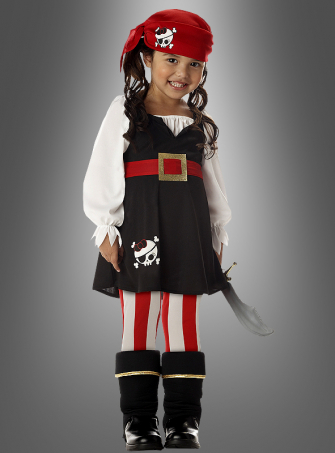 Little Pirate Girl Costume