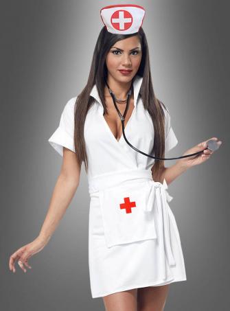 Krankenschwester Wickelkleid