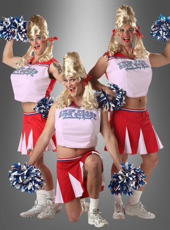 Cheerleader Kostüm für Männerballett