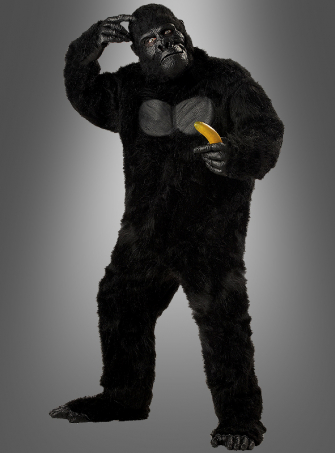 Gorilla costume plush