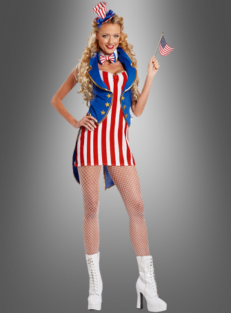 USA Columbia costume deluxe