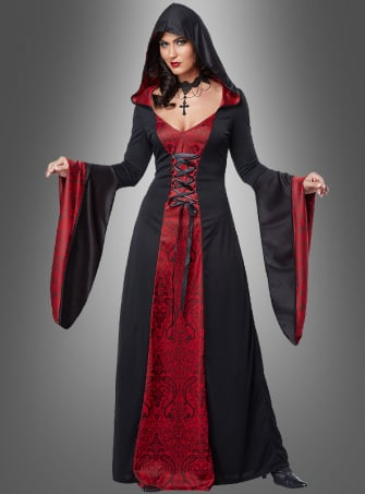 Gothic Priest Robe for Women