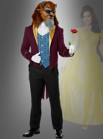 Beast Fairy Tale Costume for Men