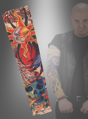 Tattoo Sleeve sun-skull