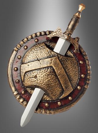 Antike Schwert und Schild