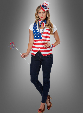 US Patriot Lady Kit Adult