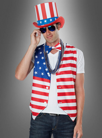 US patriot Costume Set for Men