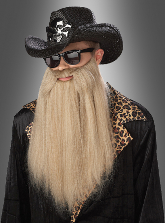 Rocker beard blonde