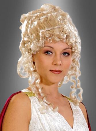 Perücke griechische Göttin blond