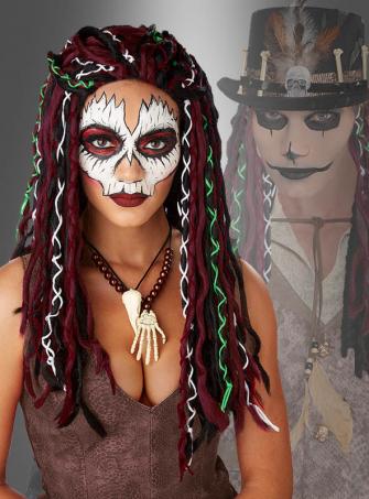 Rasta Perücke für Voodoo Kostüme
