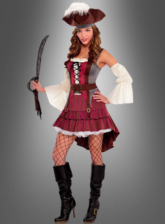 Carribbean Pirate Elisabeth Costume