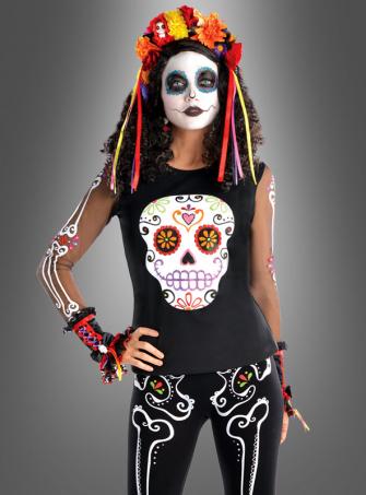 Sugar Skull Longsleeve Shirt