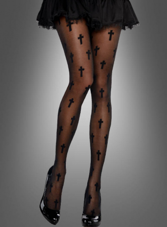 Tights with Cross