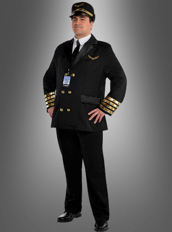 Captain Wingman Costume Plus Size