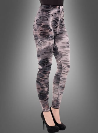Fetzige Zombie Leggings