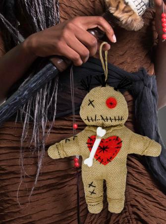 Voodoo Puppe Kostümzubehör