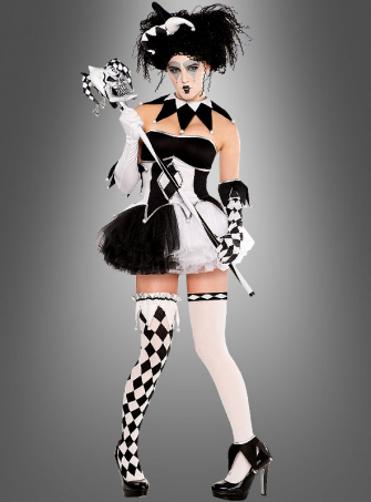 Harlequin black and white