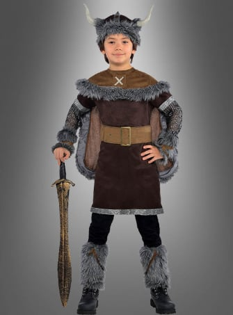 Viking Children Costume Sven