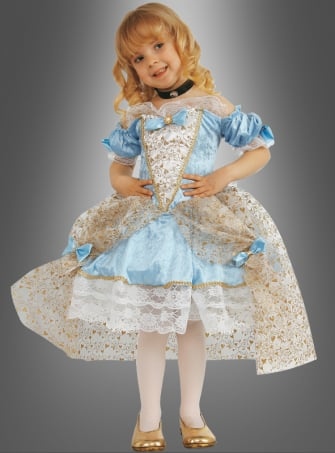 Barock Prinzessin Kinderkostüm